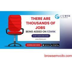 Get your dream job genuine Job portals in UAE | i12wrk