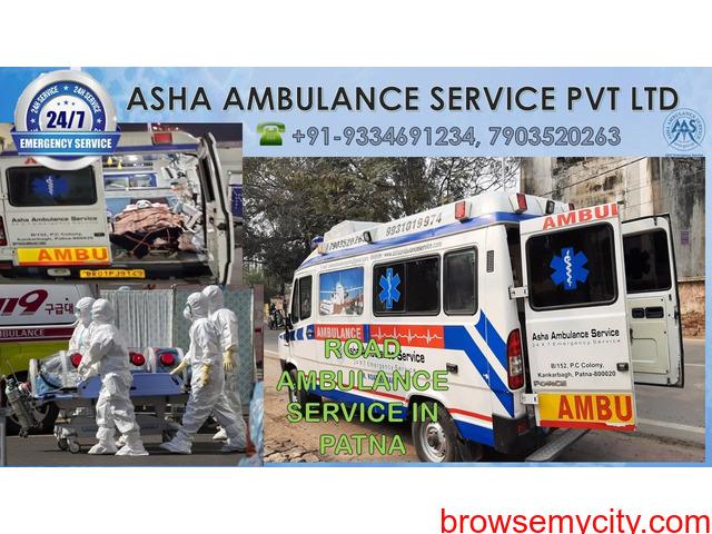 Get a Road Ambulance Service for all sick patients  ASHA - 1/1