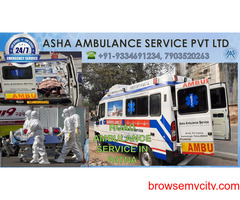 Get a Road Ambulance Service for all sick patients  ASHA