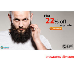 Beardo Coupons, Deals & Offers: Flat 22% off any order