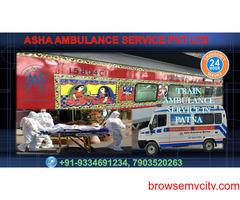 Book Train Ambulance Service at an affordable price  ASHA