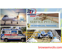 Get a low cost reliable Air Ambulance Service  ASHA