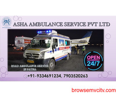 Confirm Road Ambulance Service with emergency equipment 24/7 hour's  ASHA