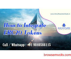 How to Integrate ERC20 Tokens? – MLM Software Tamilnadu