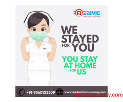 Obtain Reliable Emergency Medivic Home Nursing Care in Patna