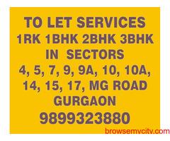 2bhk in Sector 17 Near to Westin Hotel Gurgaon 9899323880