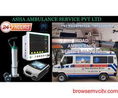 Choose the highly popular and safe Road Ambulance Service  ASHA