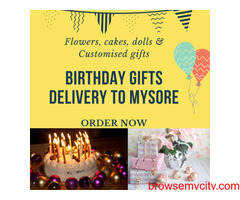 Birthday Gifts Delivery to Mysore