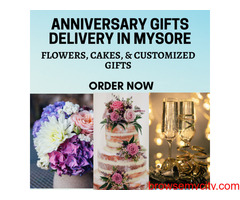 Anniversary Gifts Delivery to Mysore