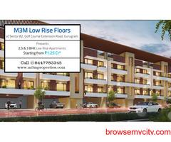 M3M Low Rise Floors Sector 82 Gurugram   A Habitat That Inspires the World