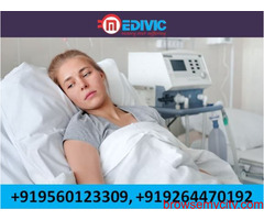 Pick ICU Support Home Nursing Service Ranchi at Low-Fare by Medivic