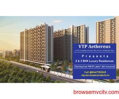 VTP Aethereus VTP Township Codename Blue Waters Mahalunge Pune