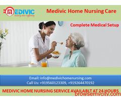 Complete Medical Setup by Medivic Home Nursing Service in Kankarbagh Patna
