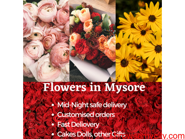 Online Flowers delivery to Mysore - 1/1