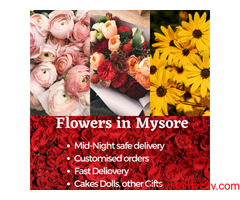 Online Flowers delivery to Mysore