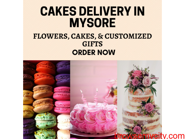 Online Cakes delivery to Mysore - 1/1
