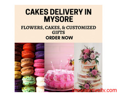 Online Cakes delivery to Mysore