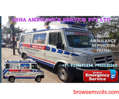 Ensure Road Ambulance Service with basic and advanced medical equipment  ASHA
