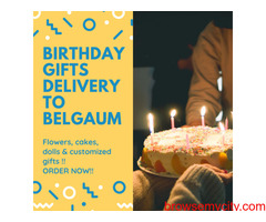 Online Birthday Gifts Delivery to Belgaum