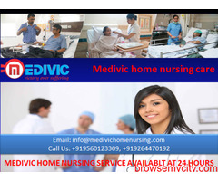 Get Treatment at Home by Medivic Home Nursing Service in Punaichak Patna