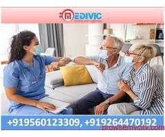 Get Hi-Tech Medivic Home Nursing Service in Boring Road with ICU Setup