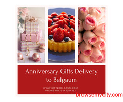 Online Anniversary Gifts Delivery to Belgaum