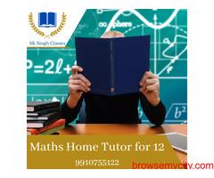 Maths Home Tutor for 12