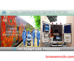 Get Train Ambulance Service with Best Experienced Medical Team  ASHA