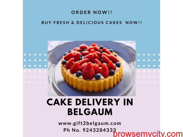 Online Cakes delivery to Belgaum - 1/1