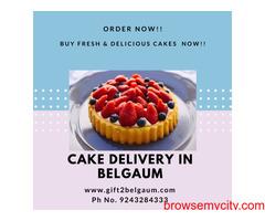 Online Cakes delivery to Belgaum