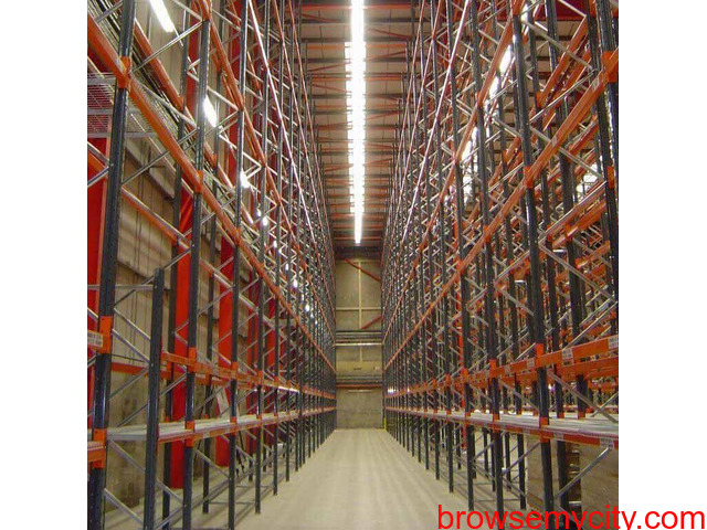 Warehouse Pallet Storage Rack - 1/3