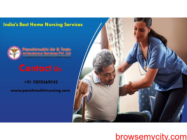 Pick Anywhere Home Nursing Service in Kolkata at Low Fare - 1/1