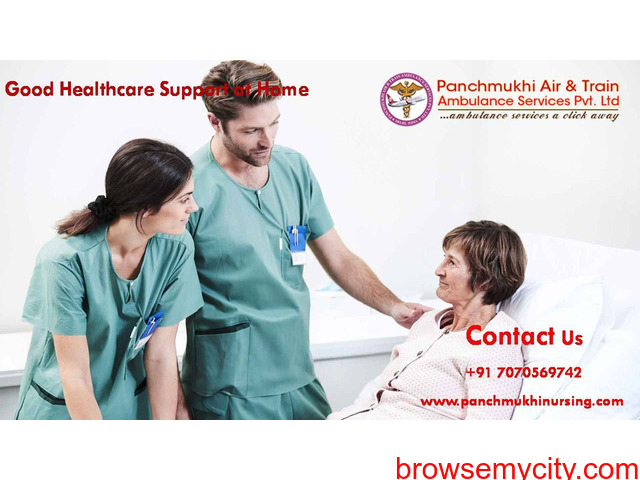 Hire Home Nursing Service in Gola Road with Spectacular ICU Support - 1/1