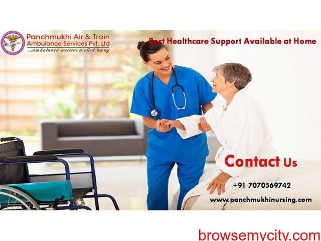 Get Top ICU Service at Home by Panchmukhi Nursing in Kidwaipuri - 1/1