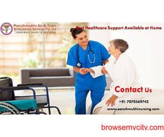 Get Top ICU Service at Home by Panchmukhi Nursing in Kidwaipuri