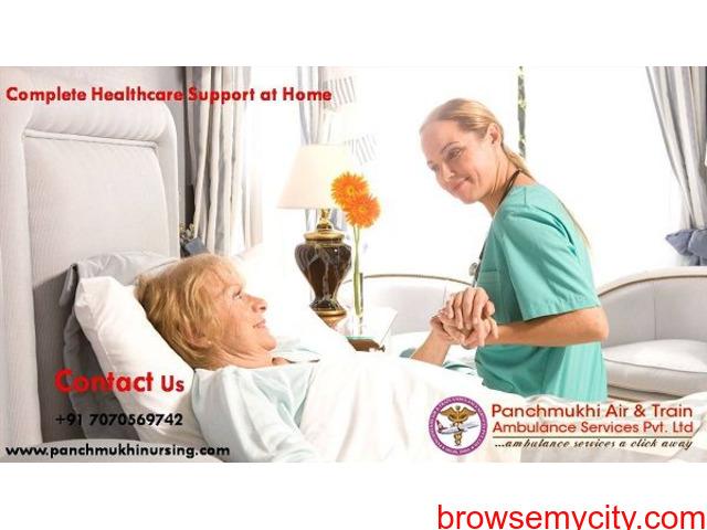 Remarkable Healthcare Assistance by Panchmukhi Nursing in Sri Krishna Puri - 1/1