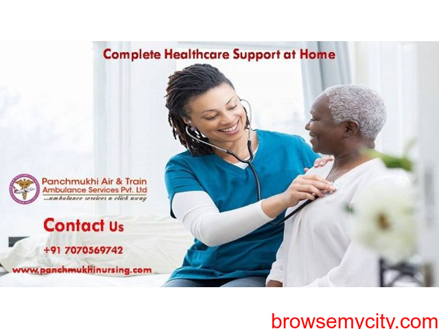 Receive Home Nursing Service in Saguna More with Authorized Physician Support - 1/1