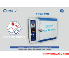 Hot Air Oven Manufacturer & Supplier in India