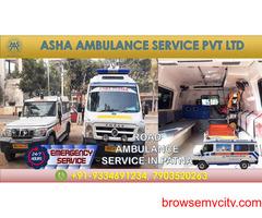 Book popular Road Ambulance Service at an affordable price  ASHA