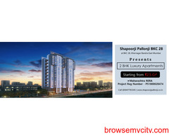 Shapoorji Pallonji BKC 28 Bandra East, Mumbai | A Habitat That Inspires the World