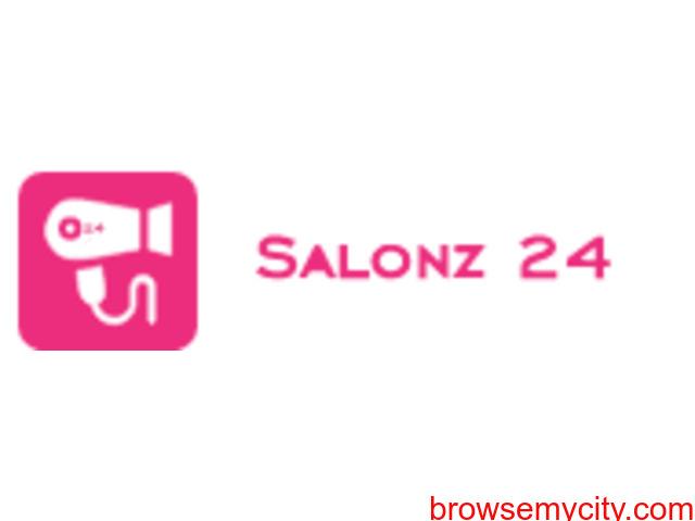 List Your Beauty Services at Salonz24 Mobile App - 1/1