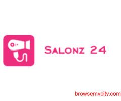 List Your Beauty Services at Salonz24 Mobile App