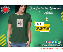 Buy Exclusive T-shirts only at Cashaler