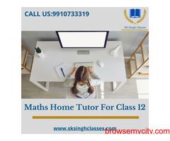 Maths Home Tutor For Class 12