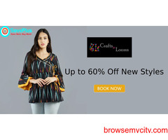 Up to 60% off Women's Tops and Tunics