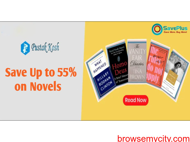 Save Up to 55% on Novels - 1/1