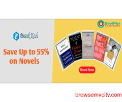 Save Up to 55% on Novels