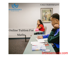 Online Tuition For Maths