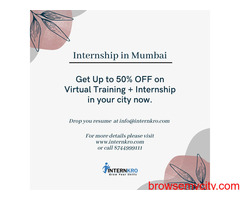 Best Internship programs In Mumbai | Internkro