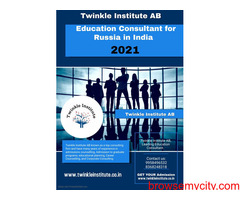 Education Consultant for Russia in india 2021 Twinkle InstituteAB